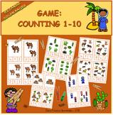 Counting 1-10 Desert / Contar 1-10 Desierto