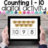 Counting 1-10 - Digital Activity - Distance Learning for S