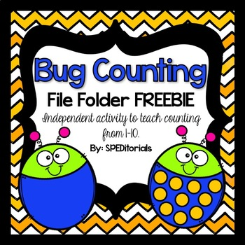 Counting 1-10 File Folder Activity