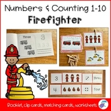 Counting 1-10 - Firefighter