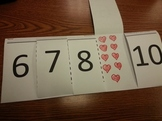 Counting 6-10 Foldable Activity Math