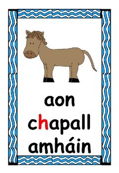 Counting 1-10 (Gaeilge Consain) Consonants