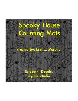 Counting 1-10: Halloween Spooky House Counting Mats