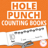 Counting 1-10 Interactive Hole Punch Activity Counting Books