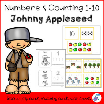 Counting 1-10 - Johnny Appleseed