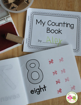 Counting 1-10: Make Your Own Number Book for Preschool and ECE