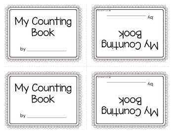 Counting Books 1-10 | Make Your Own Number Book for Preschool and Pre-k