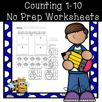Counting 1-10 activities