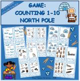 Counting 1-10 NORTH POLE / Contar 1-10 POLO NORTE