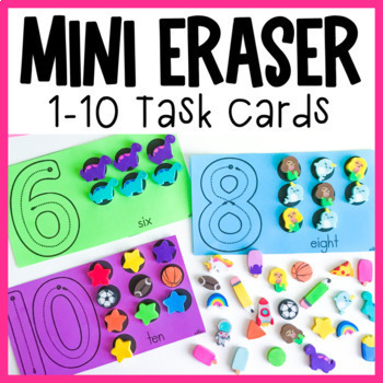 Counting 1-10 | Numbers to 10 Mats