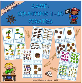 Counting 1-10 Pirates / Contar 1-10 Piratas