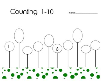 Counting 1-10 Practice