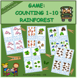 Counting 1-10 Rainforest / Contar 1-10 Selva