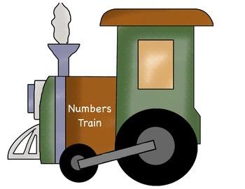 Counting 1-10 Safari Train