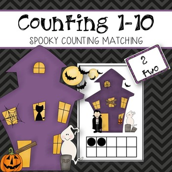 Counting 1-10 (Halloween Math Activity)
