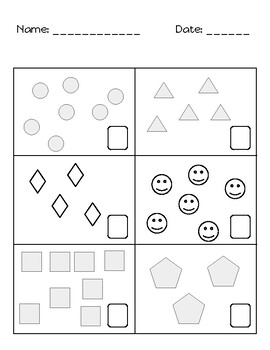 Counting (1-10) Worksheets