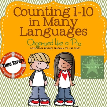 Counting 1-10 in Many Languages