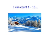 Counting 1 - 10 winter edition