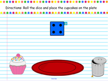 Counting 1-10 with cupcakes