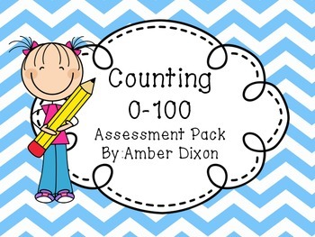 Counting 1-100 Assessment Sticks