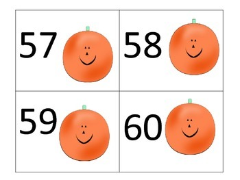 Counting 1-100 in Halloween Style