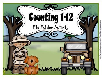 Counting 1-12 File Folder Activity