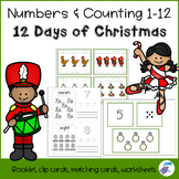 Counting 1-12 - The 12 Days of Christmas