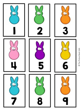 Counting 1-120-Easter Peeps Themed