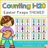 Number Cards 1-120-Easter Peeps Themed