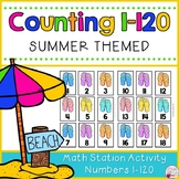 Number Cards 1-120-Summer Themed