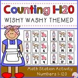 Number Cards 1-120-Wishy Washy Farm Themed
