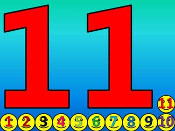Counting 1 - 20 Activity (Video)