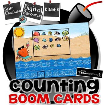 Counting 1-20 Boom Cards™  Digital Task Cards
