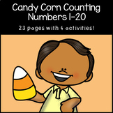 Counting 1-20 | Candy Corn Counting | Halloween | Thanksgiving | Fall