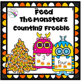 Counting 1-20 Candy Corn Eating Monsters
