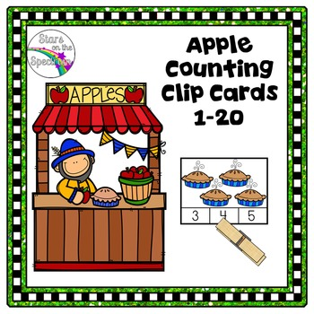 Johnny Appleseed Activities (Apple Counting)