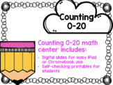 Counting 1-20 Digital Center