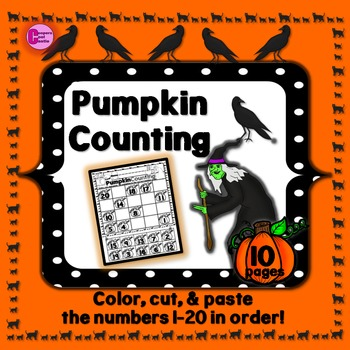 Counting 1-20 (Halloween)