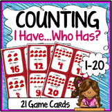 Counting Speaking & Listening I Have, Who Has Game