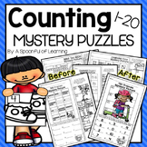 Counting 1-20 Mystery Puzzles