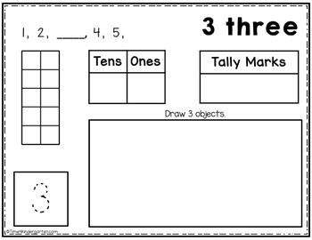 Counting 1-20: Number Sense