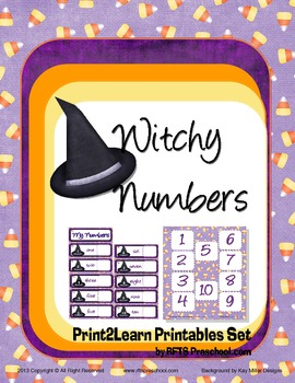 Counting 1 - 20 Witchy Numbers