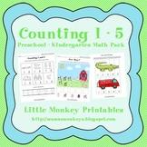 Counting 1 - 5 Math Pack