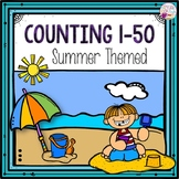 Counting 1-50 (Summer Themed)