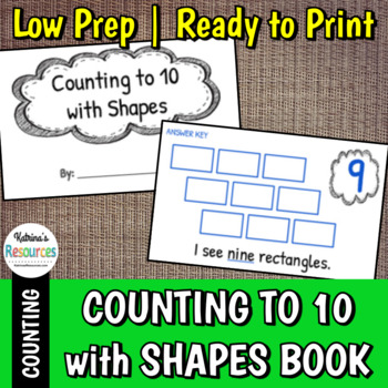 Counting 1 through 10 with Shapes