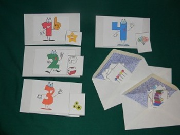 Counting 1 to 10 Math Center, Classroom Resource tool- Hard Good