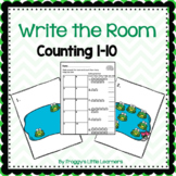 Counting 1 to 10 Write the Room