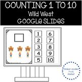 Counting 1 to 10 in the Wild Wild West Adapted Book, Pre-k, ECE