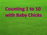Counting 1 to 10 with Baby Chicks