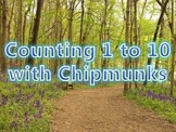 Counting 1 to 10 with Chipmunks